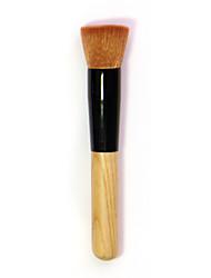 New Cosmetic Makeup Brush Liquid Face Powder Foundation  Flattop Brushes Tool