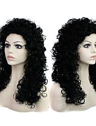 в Европе и Соединенных волос государства мода стиль дамы вьющиеся волосы черный парик