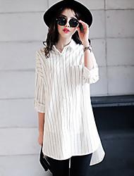 Women's Vintga Sexy Casual Cute Work  Shirt Collar Shirt ,Long Sleeve,Cotton