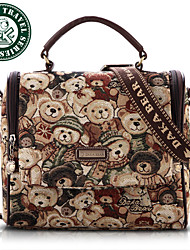 DAKA BEAR Women Fashion Polyester CrossBody Messenger Tote Bag