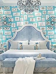 novo arco-íris quarto papel de parede art deco parede cobertura ™ wallpaper infantil, art deco papel não-tecido