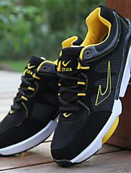 Sapatos Corrida Masculino Preto / Azul / Amarelo / Vermelho Courino