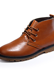 Men's Shoes Casual  Boots Black/Brown/Red