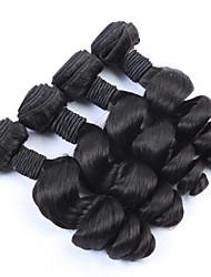"3pcs/lot 8""-34""Brazilian Loose Wave Virgin Hair 300g Unprocessed Human Hair Extension Brazilian Virgin Hair Loose Wave"