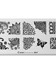 DIY Nail Art Stamp Stamping Image Template Plate/Nail Stencils Abstract Pattern