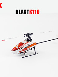 XK K110 Blash 6CH Brushless 3D6G System RC Helicopter BNF