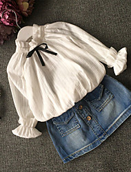 Kid's Casual/Cute Suit (Chiffon/Denim)