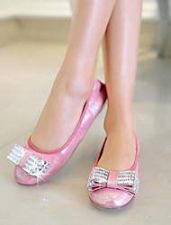 Women's Shoes Flat Heel Round Toe Flats Casual Yellow/Pink