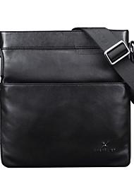 bolso del negocio del cuero genuino bolsas individuales de hombro para el diseño de los hombres maletines los hombres de moda negocio de