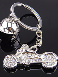 New Model Of The New Type Of Motorcycle Helmet Metal Key Buckle Creative Man Gift Key Chain