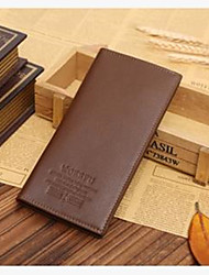 Men's Genuine Leather Wallet Long Money
