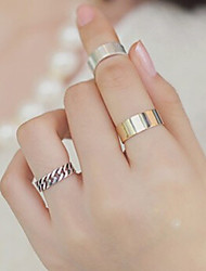 New Arrival Fashional Popular Chain Rings A Set
