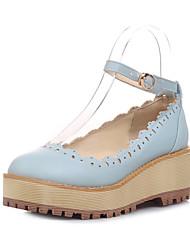 Women's Shoes Wedge Heel Wedges/Comfort/Round Toe/Closed Toe Pumps/Heels Office & Career/Dress/Casual