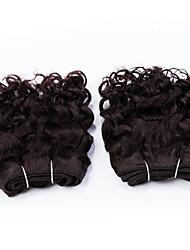 """evet malaysisches reines Haar 2 Bündel 8 """"6a menschlichen Haares malaysischen Wasserwelle unverarbeitete malaysisches reines Haar 105g /"""