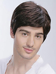 Top Grade Quality Human Hair Men's Wig