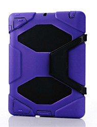 mais novo impermeável shell caso dirtproof à prova de choque + cinto clipe coldre para ipad 4/3/2 (cores sortidas)