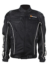 Riding Tribe Motorcycle Riding Jacket  Outdoor Sports Breathable Racing Jacket  (Black / Green)