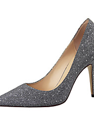 Women's Shoes Glitter Stiletto Heel Heels/Pointed Toe/Closed Toe Pumps/Heels Dress More Colors Available