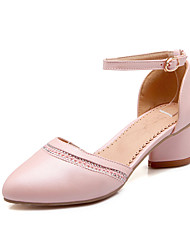 Women's Shoes Chunky Heel Pointed Toe Pumps CasualWith Sparkling Glitter More Colors Available