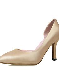 Scarpe Donna Finta pelle A stiletto A punta Scarpe col tacco Casual Blu/Rosso/Bianco