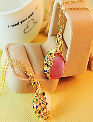 Collar Colgante ( Piedra Preciosa y Cristal Bonito