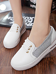 Alexia Women's Shoes Green/Grey Platform 0-3cm Casual