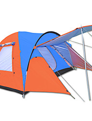 Tripolar Outdoor Camping Square roof Hand tent Double Waterproof/Windproof/KEEP WARM/Ultra Light camping tent