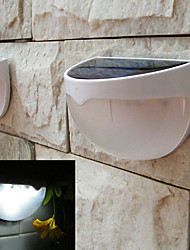 Solar Powered LED Lamp Outdoor Garden Light Automatic Sensor Activated  Solar LED Light (White)