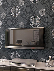 New Rainbow™ Contemporary Wallpaper Art Deco Circle Wallpaper Wall Covering Non-woven Fabric Wall Art
