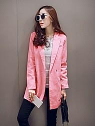 Domonie Women's Coats & Jackets ,  Bodycon/Casual Long Sleeve