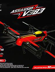v383 wltoys 500 3d elétrica 2.4G 6ch rc Quadrotor