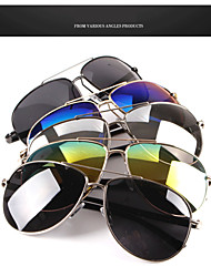 New Trends In Europe And America Color film metal sunglasses frog mirror Polarizer Couples sunglasses HTYJ0728
