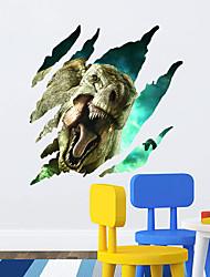 3D-Wandaufkleber Wandtattoos Stil Dinosaurier Stil PVC-Wandaufkleber