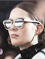 mujeres 's Espejo/100% UV400 Ojo de Gato Gafas de Sol