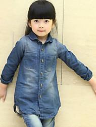 Camicia Girl Inverno/Autunno Denim