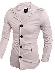 Men's Fashion Single-breasted Coat