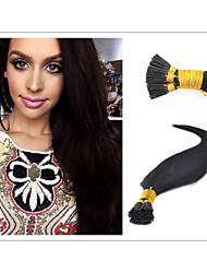 """18 """"30"""" brasilianisches Haar i Spitze Haarverlängerungen seidige gerade 1g / strand Haarmenschenhaarverlängerung alle Farben auf Lager"""