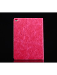 cordonnier ultra-mince conception du stand flip Smart Cover étui en cuir PU pour Apple iPad 2 l'air (de couleur assortie)