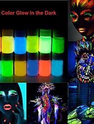 Хэллоуин светятся в темноте неоновую лицо& Тело краска -25ml 1 шт флуоресцентный