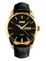 Calendar, Week Show Men Belt Quartz Watch Wrist Watch Cool Watch Unique Watch