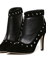 Women's Shoes Stiletto Heel Fashion Boots Boots Casual Black