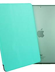 ESR yippee Farbserie leichte tri-fach PU Leder Schutzhülle für iPad Mini 2.3 / 1-mintgrün