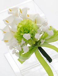 Small Size Green Calla Wedding/Party Boutonniere (9*16cm)