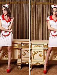 2015 Halloween High Quality Adult Women Sexy Dress Exotic Nurse Uniform Fetish Office Maid Cosplay Costume