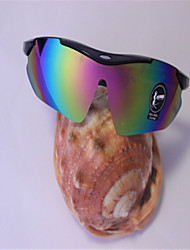 Run Of  Outdoor Cycling Sport Trend Dazzle Colour Sunglasses (Random Color)