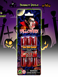 Halloween Make Up Face Paint Kit Zombie,Liquid Bblood Capsules