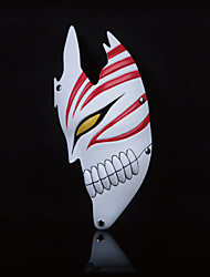 BLEACH Kurosaki ichigo Transform Half Mask Cosplay Mask Masquerade For Halloween Party Carnival (1 Pc)