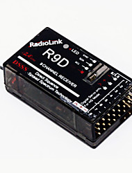 2.4G 9CH DSSS Receiver for RadioLink AT9 Transmitter RC Helicopter Multirotor Support S-BUS