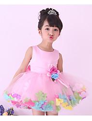 Girls Princess Dress Kids Baby Toddler Tutu Petal Wedding Party Evening Dresses