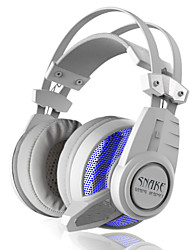 Plextone PC900 Dazzle bule light 7.1 -Channel Sound CardHeadphones  With Microphone/Volume Control/Gaming for Media